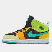 【額外7折】喬丹 Air Jordan 1 Mid 中童款籃球鞋 糖果四葉草