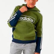 【額外7折】adidas Originals 三葉草 大童款拼色衛衣