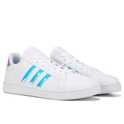 【第2件半價+滿額減】adidas 阿迪 Grand Court 大童款板鞋