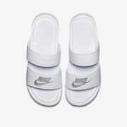 Nike 耐克 Benassi Duo Ultra Slide 白色女子拖鞋