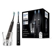 【中亞Prime會員】Philips 飛利浦 鉆石清潔電動牙刷 2支裝 HX9357/87