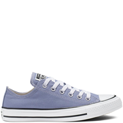 Converse 匡威 All Star 藍灰色低幫帆布鞋