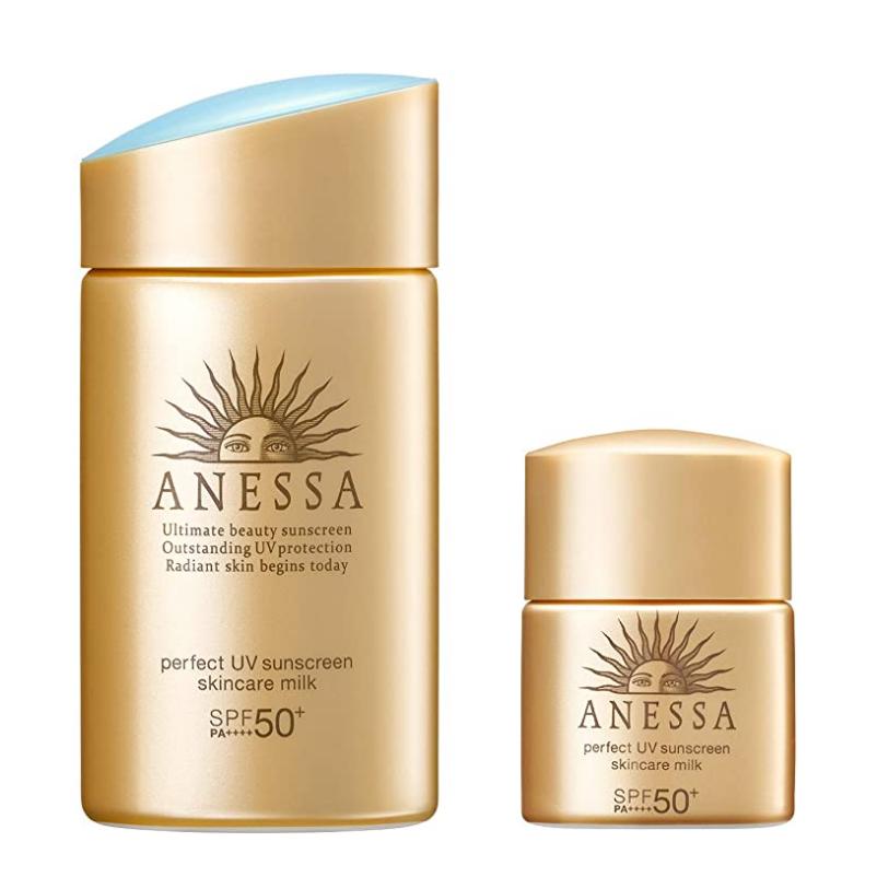 【日亞自營】ANESSA 安耐曬金瓶 60mL+10mL