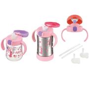 RICHELL 利其爾 寶寶手握飲水杯套裝 粉色款