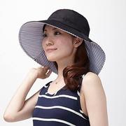 日本 UV CUT 防紫外線 可折疊漁夫帽