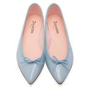Repetto Brigitte 女子亮皮芭蕾平底鞋