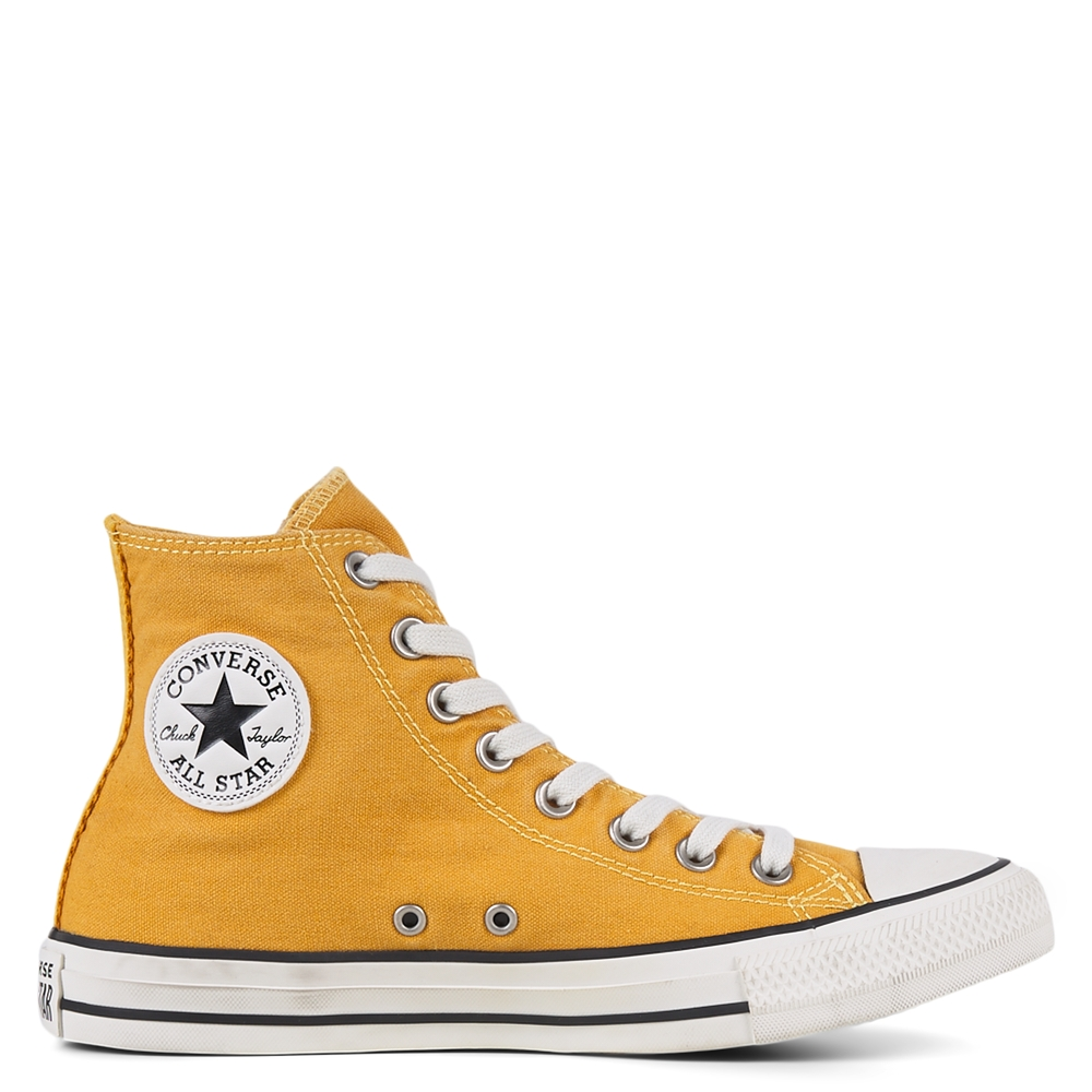 Converse 匡威 All Star 橙黃色高幫鞋