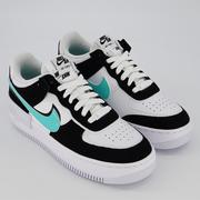 Nike 耐克 Air Force 1 空軍1號 藍黑拼色低幫運動鞋