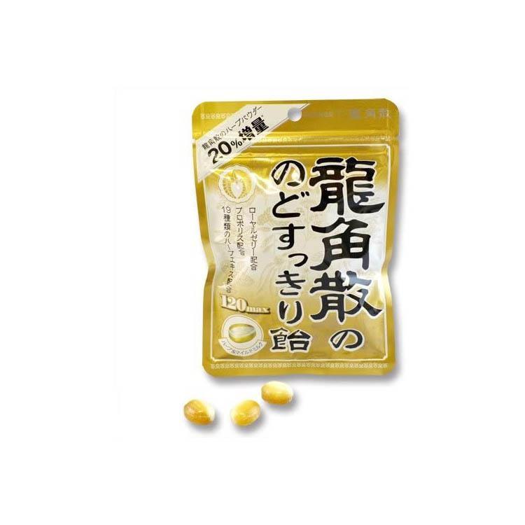 【日亞自營】龍角散潤喉清喉止咳糖 蜂蜜味 88g*6袋