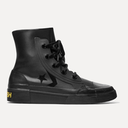 CONVERSE x AMBUSH 橡膠邊飾人造皮革高幫運動鞋