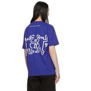 études Keith Haring Edition 藍色T恤衫