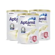 【用碼立減5紐】Aptamil 愛他美白金裝嬰兒奶粉 4段 900g*3