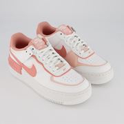 Nike 耐克 Air Force 1 空軍1號 珊瑚粉白色運動鞋
