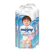 【需用券】Moony 嬰兒拉拉褲 XL 38片*3包