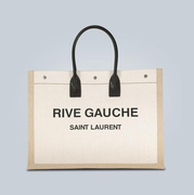 【經典款】Saint Laurent 圣羅蘭 帆布托特包