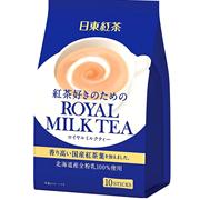 【日亞自營】日東紅茶 皇家奶茶 10支*6袋