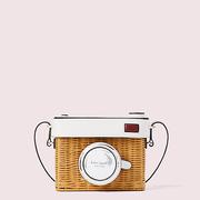 【喬欣同款】kate spade rose 相機造型編織包