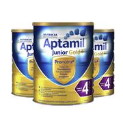 【包郵】Aptamil 愛他美金裝嬰幼兒配方奶粉4段 2歲以上 900g *3