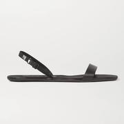 Alexander Wang Ryder 品牌標志綴飾緞布露跟涼鞋