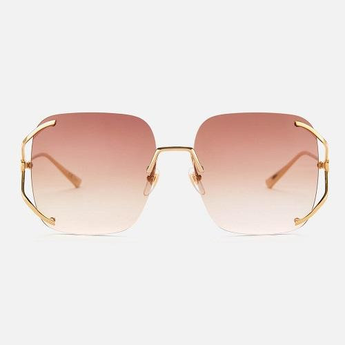 【8折】Gucci Oversized Square Frame  太陽鏡