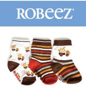 Robeez:嬰兒襪子5折特賣