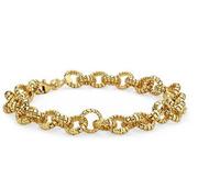 Mini Tubogas Link Bracelet 女式絞鏈金手鏈 $383