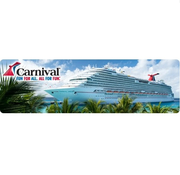Priceline Carnival Cruise游船低至$189起!