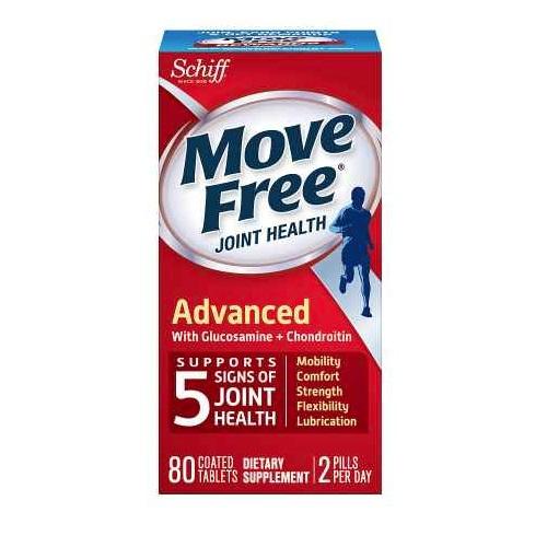 Move Free 維骨力(紅盒) 80粒
