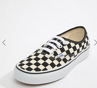 Vans Authentic black and white checkerboard trainers