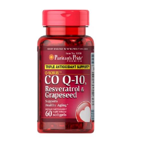 輔酶COQ10+白藜蘆醇&葡萄籽