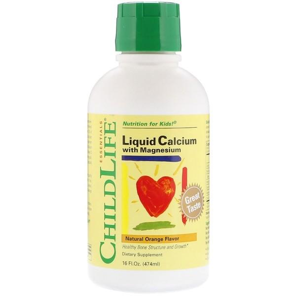 ChildLife 含鎂的液體鈣