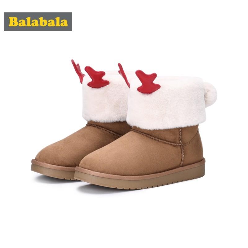 兒童雪地靴