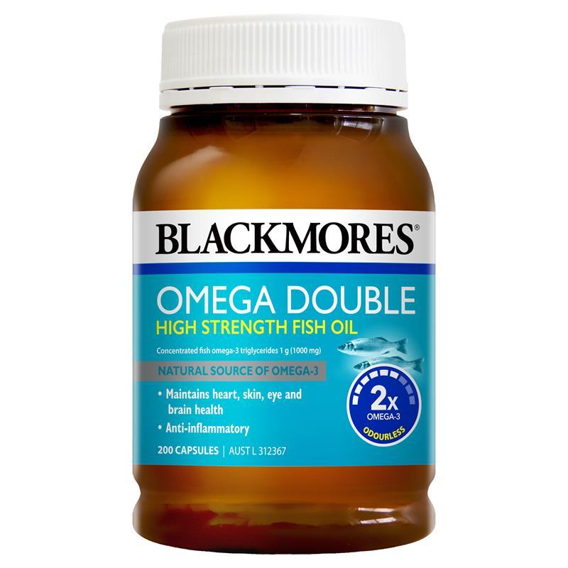 omega 雙倍魚油
