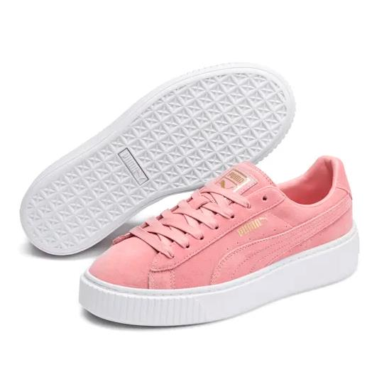 Suede Platform 女子板鞋