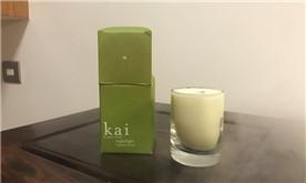 【返利金兑换】味道特别好闻的kai栀子花香薰蜡烛85g
