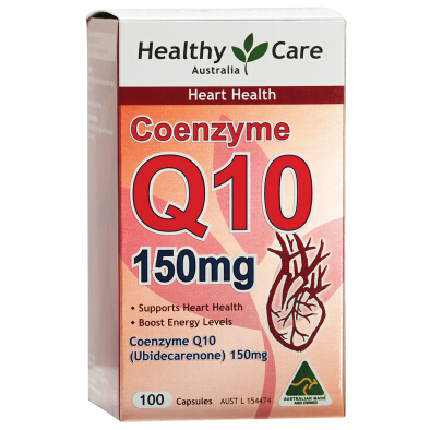 Healthy Care CoEnzyme 輔酶Q10膠囊150mg