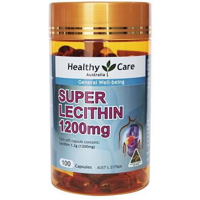 Healthy Care大豆卵磷脂膠囊