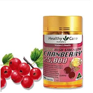 Healthy?Care高濃縮蔓越莓膠囊90粒