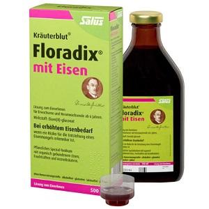 Salus Floradix mit Eisen 鐵元 500ml