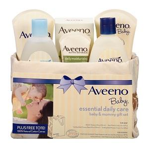 Aveeno 艾維諾 孕婦嬰兒護理6件套