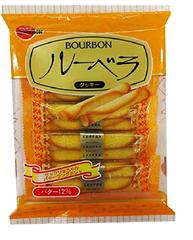 Bourbon布尔本 黄油味蛋卷 10根×12袋 1548日元(约78元)
