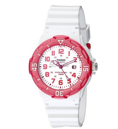 可爱超值!【美亚自营】Casio 卡西欧 LRW-200H-4BVCF 女款时尚石英腕表