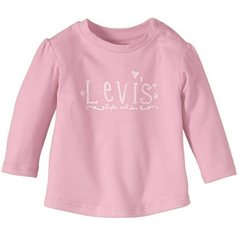 【德亚直邮】Levi's Kids 李维斯童装 Jersey 女童T恤 3色 9欧起(约66元)