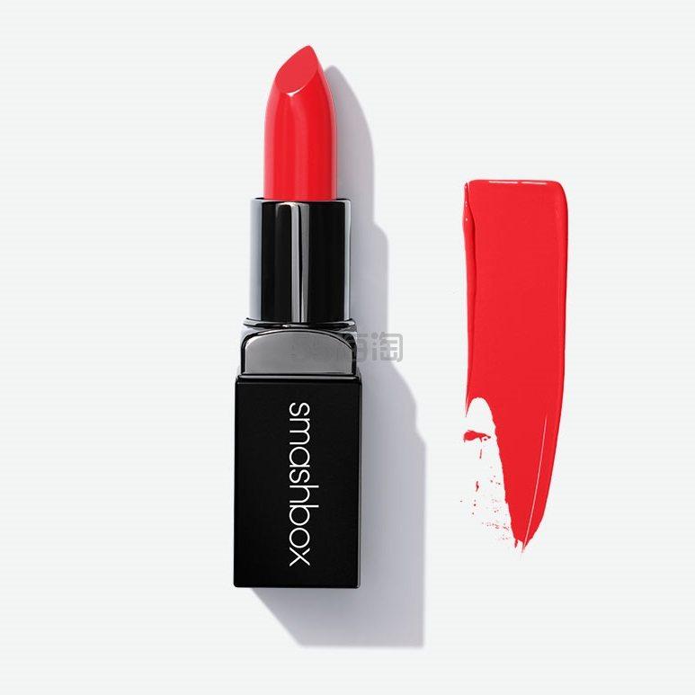 【6.7折+满额送3件好礼】Smashbox Cosmetics 传奇哑光唇膏 .9(约85元) - 海淘优惠海淘折扣|55海淘网