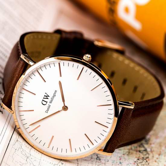 55专享!Daniel Wellington 0511DW 中性石英腕表 $74.99(约542元)