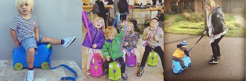 【儿童节专享】The Hut:Trunki 儿童趣味旅行箱等 线上低至8.5折+额外9折!