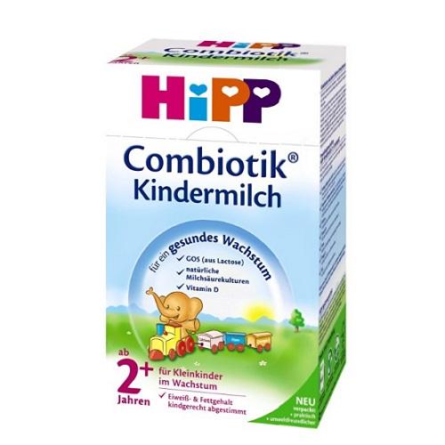 【德亚直邮】Hipp 喜宝益生菌奶粉 2岁以上 600g*4盒 35 8欧(约273元)