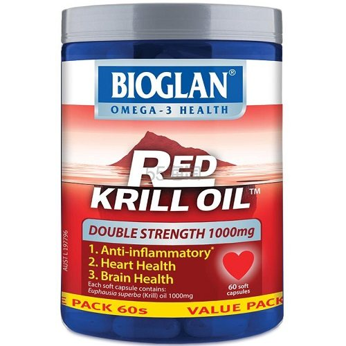 好价!Bioglan 宝兰 红磷虾油 1000mg 60粒 19.99澳币(约96元) - 海淘优惠海淘折扣|55海淘网