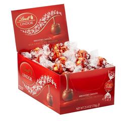 好价继续!【中亚Prime会员】Lindt 瑞士莲 松露牛奶巧克力 60粒 720g