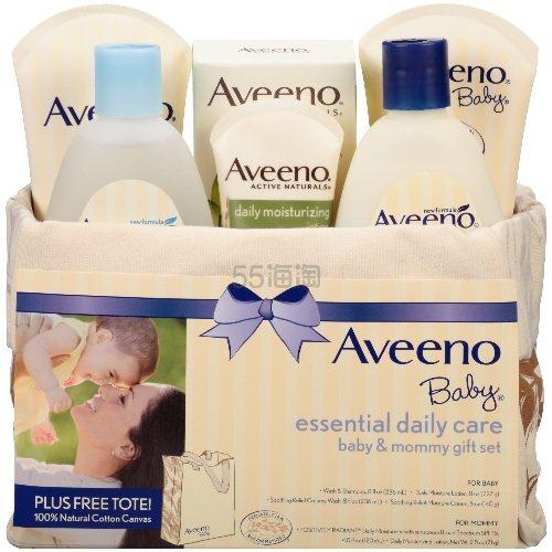 满528元减105元!【中亚Prime会员】Aveeno 艾维诺 日常婴儿护理母婴礼品6件套套装 到手价195元 - 海淘优惠海淘折扣|55海淘网